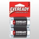 Eveready Super C Cell Batteries