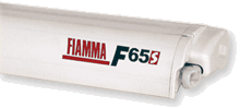 Fiamma F65 S Awning - Polar White Case