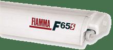 Fiamma F65 S Awning - Polar White Case