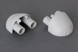 Fiamma Carry-Bike Support Bar End Caps - Pair
