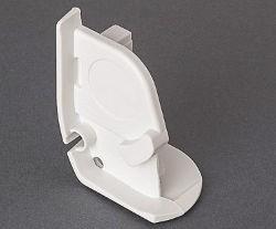 Fiamma F45i Pelmet Cap White - Right Hand