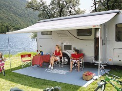 Fiamma F45 L Awning - Motorhome Awning - Polar White Case