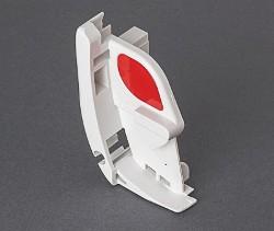 Fiamma F45L Right Hand Pelmet Cap - Polar White