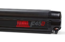 Fiamma F45 S Motorhome Awning - Deep Black Case