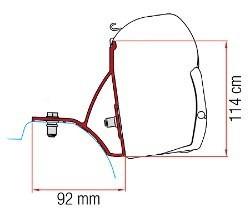 Fiamma Kit F45 Trafic / Vivaro 2015