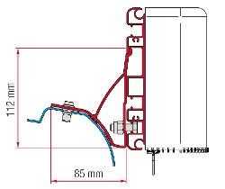 Fiamma Adapter Kit Compass - Trafic / Vivaro 2015