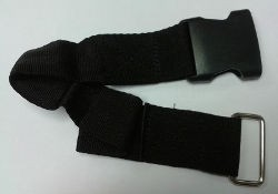 Fiamma Tie Down S Female Buckle Strap - Black