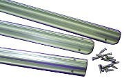 Flanged Awning Rail Sections - 3 x 1.2m