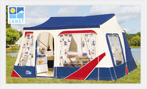 Jamet Jametic Classic Trailer Tent  sc 1 st  C&erlands & Jamet Trailer Tents Are Available Exclusively From Camperlands