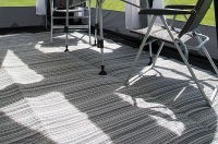 Kampa Continental Awning Carpet - 250 x 650