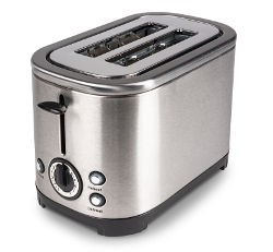 Kampa Deco Stainless Steel Toaster - Silver