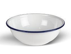 Kampa Enamel Bowl - White