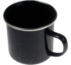 Kampa Enamel Mug - Black