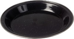 Kampa Enamel Dinner Plate - Black