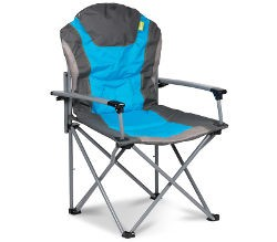 Kampa Guv'nor Padded Armchair - Blue