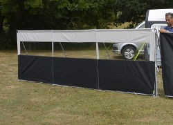 Kampa Windbreak Pro - 3 Panel