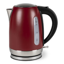Kampa Tempest 1.7L Electric Kettle - Ember Red