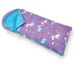 Kampa Kids Sleeping Bag - Unicorns