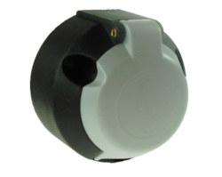 Maypole 7 Pin Towing Socket - Grey 12 S