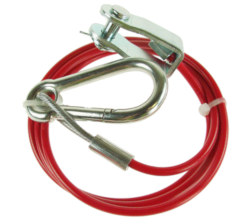 Maypole Plastic Coated Breakaway Cable - 3mm Clevis Fixing