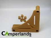 Tan Table Storage Brackets