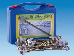 Pennine Hard Ground Drill Pegs - Box 20