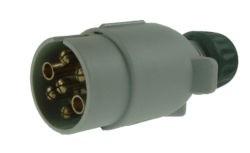 Maypole plastic 12v 7s plug