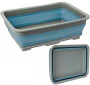 Pop! Folding Wash Basin Blue  37 x 28 x 12cm