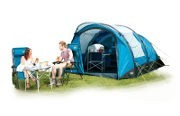Portland 4 Person Inflatable Tent, Carpet & Footprint Groundsheet Package