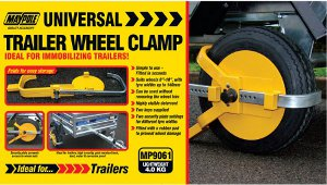 Maypole Universal Trailer Wheel Clamp