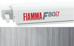 Fiamma F80S 340 - Polar White / Royal Grey