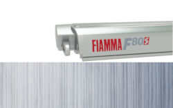 Fiamma F80S 340 - Titanium / Royal Blue