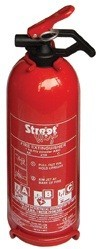 StreetWize Dry Powder Fire Extinguisher - 1Kg