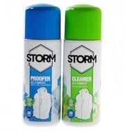 Storm Clean and Proof Twin Pack - 75ml