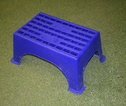 Streetwize Large Blue Plastic Step