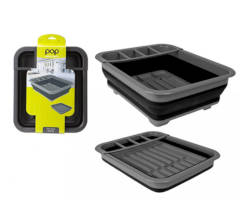 Summit Pop Dish Drainer Black
