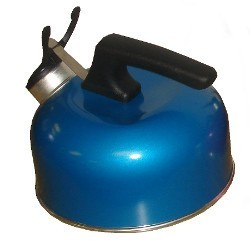Sunncamp 2 Litre Whistling Camp Kettle - Blue