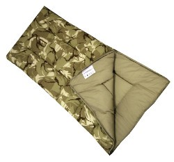 Sunncamp Camouflage Junior Sleeping Bag