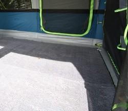 Sunncamp Invadair 600 Tent Carpet - 385 x 275cm