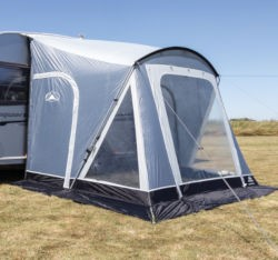 Sunncamp Swift 220 Deluxe Porch Awning - Dark Grey