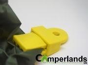 Pennine Ground Sheet/Tarp Clamps x 4