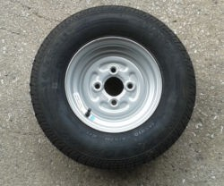 Wheel and Tyre - 145R10 4 Stud 100mm PCD