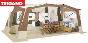 Trigano Olympe Trailer Tent - 2014 Spec