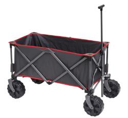 Trigano 4-wheeled all-terrain fabric transport trolley