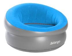Vango Inflatable Donut Chair - Mykonos Blue