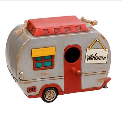 Birdhouse 50's Vintage Caravan