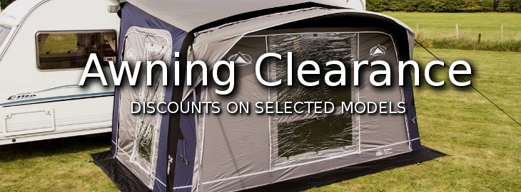 Camperlands Pre-Season Awning Clearance