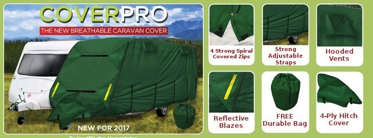 Crusader Cover Pro Caravan Winter Storage Covers
