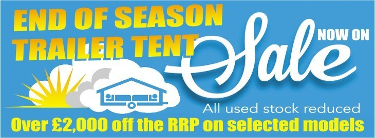 Camperlands End of Season Sale - Now On