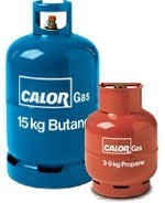 Calorgas large camping and caravan gas bottles
